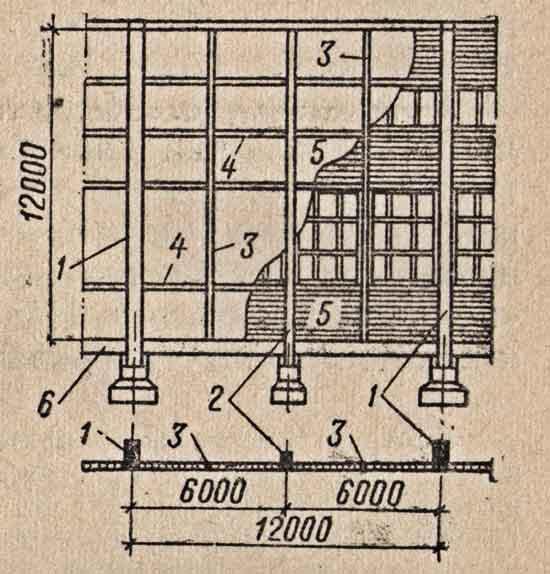 Схема фахверка